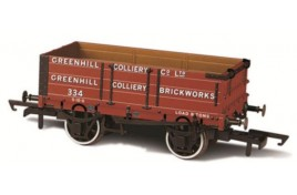 4 Plank Wagon Greenhill Colliery 334 OO Scale