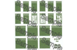Southern Railway Poster Boards OO Scale