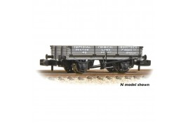 3 Plank Open Wagon 'ICI Buxton Lime' Grey OO Gauge