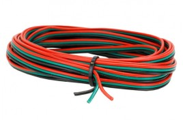 3 Wire RGB Ribbon 5m for Point motors