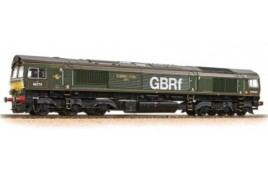 Class 66/7 66779 'Evening Star' GBRf Brunswick Green OO Gauge