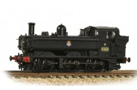 NGWR 64XX Pannier Tank 6422 BR Black (Early Emblem) N Gauge