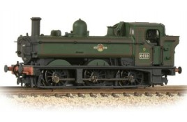 GWR 64XX Pannier Tank 6419 BR Lined Green (Late Crest) Weathered N Gauge