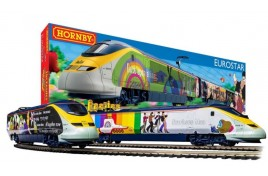 The Beatles 'Yellow Submarine' Eurostar Train Set OO Gauge