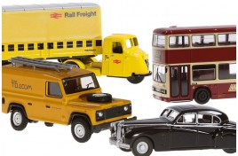 N Gauge Model Vehicles