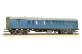 Mk1 Suburban (Non-gangwayed) Second Brake Coach BR Blue Weathered