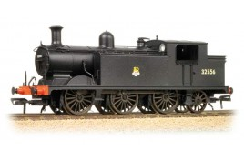 Billinton Class E4 0-6-2T BR Unlined Black Early Crest 32556