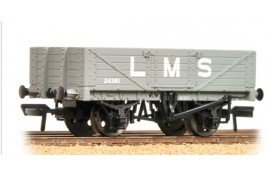 5 Plank Wagon Wooden Floor LNER Grey OO gauge