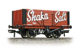 7 Plank Fixed End Wagon Shaka Salt OO Gauge