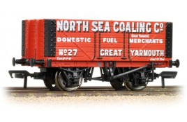 7 Plank Wagon North Sea Coaling Co., Great Yarmouth OO Gauge
