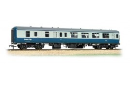 Mk2 BSO Brake Second Open Coach BR Blue & Grey InterCity