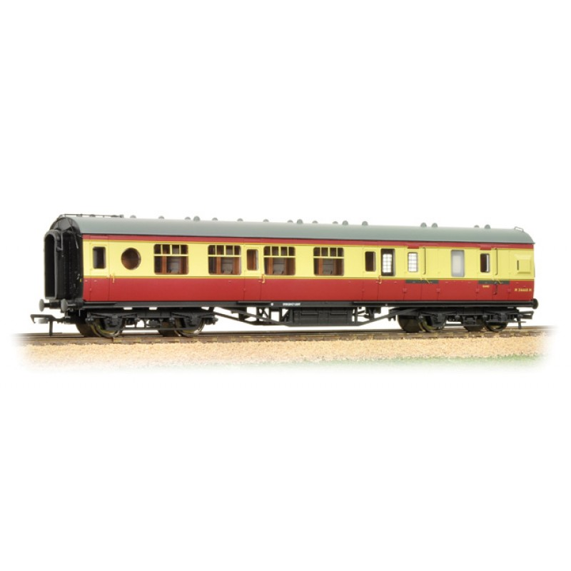 Lms 57 Ft Porthole 3rd Class Corridor Brake Coach Br
