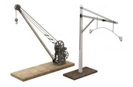Yard Crane and Loading Gauge 75mm x 24mm x 75mm