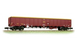 MBA Megabox High-Sided Bogie Box Wagon  N Gauge