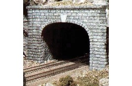 Double Track Tunnel Portal Cut Stone x 1 OO/HO Scale