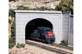 Double Track Tunnel Portal Concrete OO/HO Scale
