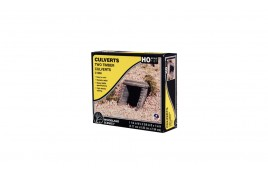 Culvert (Sewer/Drain) Portals Timber x 2 OO/HO Scale