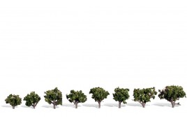 "Classic Trees Sun Kissed Medium Trees (0.75"" - 1.25"") Pack of 8"