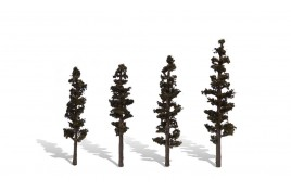 Classic Trees Standing Timber (Conifer) Medium/Large (4