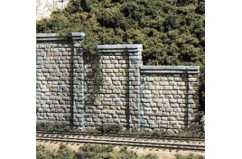 Retaining Walls Cut Stone x 3 OO/HO Scale