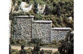 Retaining Walls Random Stone x 3 OO/HO Scale