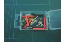 Micro Spade Connectors & Heat Shrink Sleeving x 10