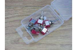 Miniature Switches SPST On/Off  x 5