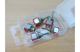 Miniature Switches SPDT On/Off/On Centre Bias x 5