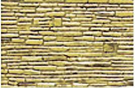 Random Coarse Stone Pattern Sheet x 2 HO/OO Scale