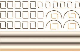 Decals - Orange /Black /Orange Lining for BR Green Livery
