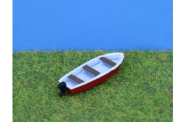 13ft Boat with Outboard Motor N Scale
