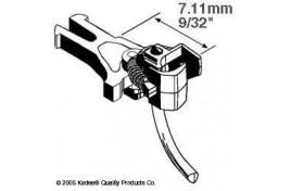 Magne-Matic Short (7.11mm) NEM Couplings - 2 Pairs OO/HO Scale