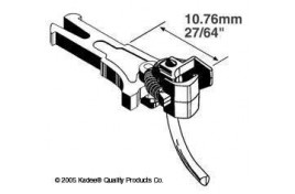 Magne-Matic Long (10.61mm) NEM Couplings - 2 Pairs OO/HO Scale