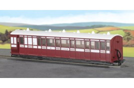Composite Coach - Lynton & Barnstaple Livery - No.6
