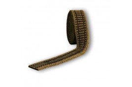 OO/HO Scale Brown Ballasted Flexible Track Bed / Underlay 5 metre roll