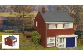 Fordhampton 1960s Three Bedroom House Plastic Kit OO Scale