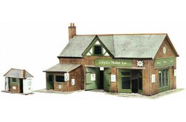 Country Garage & Petrol Pump Card Kit