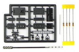 4 Aspect (Red/Yellow/Green/Yellow) Outer Distant Signal Plastic Kit with LEDs OO Scale