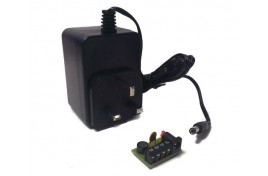 Wall Mounted Transformer - 1 X 16V AC or 12V DC @1.1A