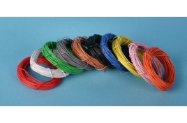 16/0.2mm Multi Core Wire White 10 Metres (approx)