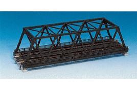Double Track Truss Bridge Silver 248mm N Scale