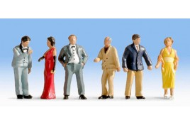 Going to the Ball x 6 OO/HO Scale