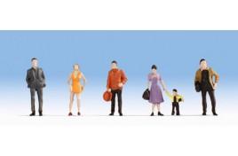 Hobby Series - Pedestrians x 6 OO/HO Scale