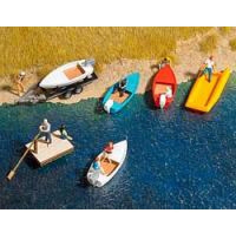 Motor Boats x 4 Kit N Scale