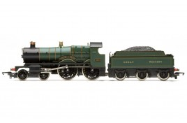Railroad Churchward County Class 4-4-0 GWR Lined Green 3435 'County of Devon'