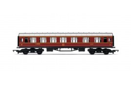 RailRoad Composite Coach LMS Crimson 4183