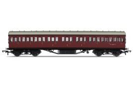 Non-Corridor 57ft Composite Coach BR Maroon