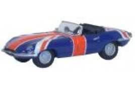 Jaguar E Type - Union Flag 'Austin Powers' OO Scale