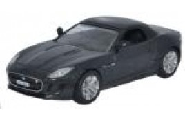 Jaguar F Type Stratus Grey (hood up) OO Scale