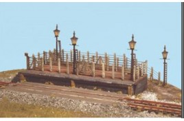 Cattle Dock Plastic Kit N Scale